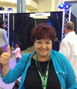 Janice's thumbs up gave me extra confidence.